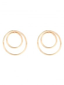 Minimalist Design Circles Earrings