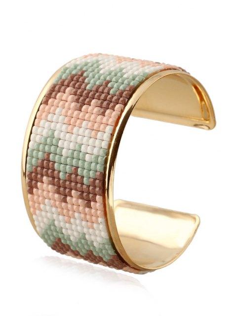 online Wave Resin Cuff Bracelet -   Mobile