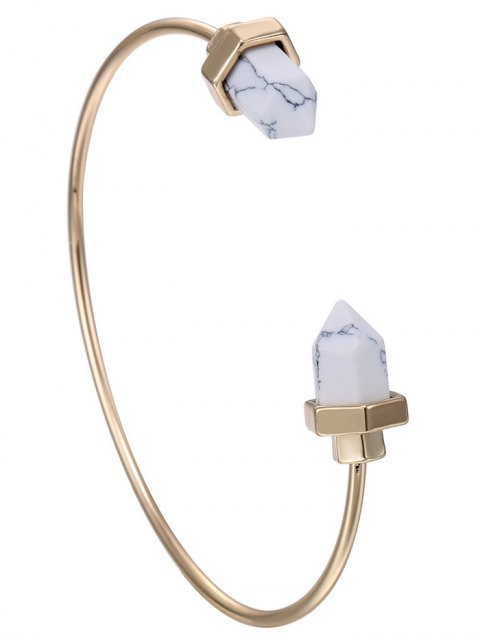 affordable Faux Rammel Geometric Bracelet -   Mobile
