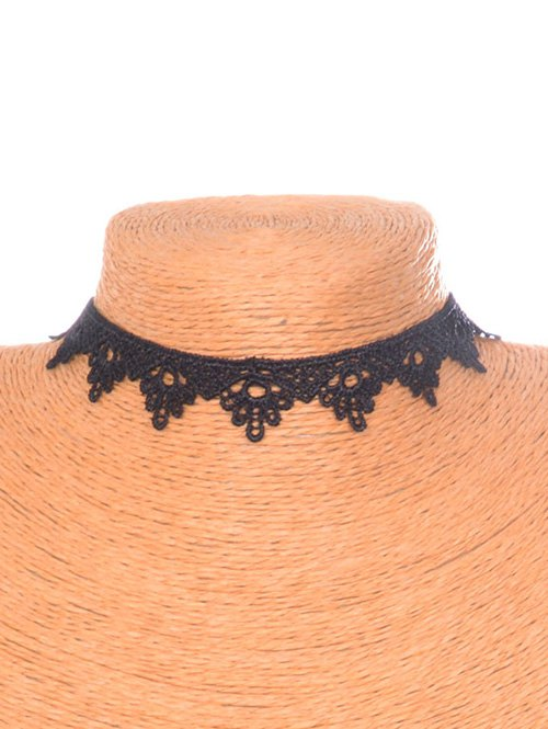 Floral Triangle Choker