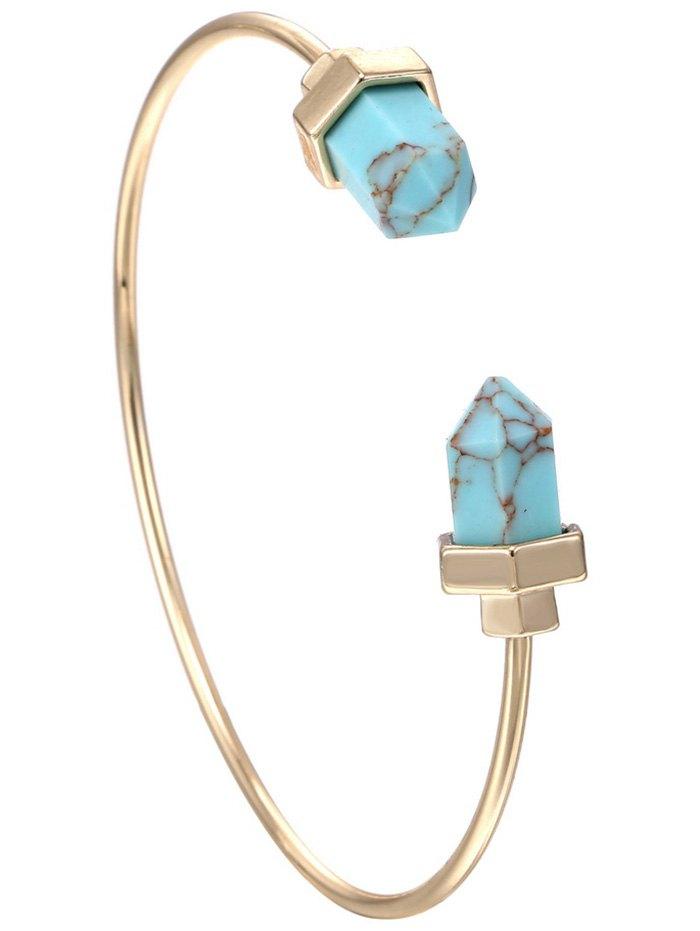 Faux Rammel Geometric Bracelet