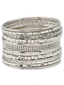 Rhinestone Layered Bracelets