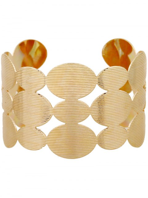 trendy Tiered Cut Out Round Bracelet -   Mobile