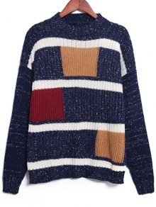 Geometric Pattern Jumper