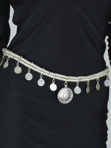 Coin Tassel Belly Chain