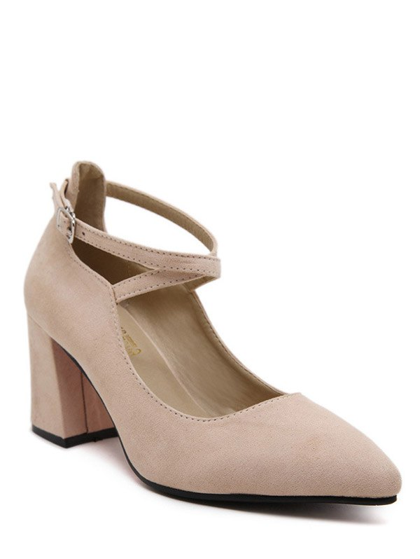 Pointed Toe Design Pumps For Women