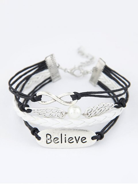 chic Wings Infinity Strand Bracelet - COLORMIX  Mobile