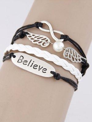 Wings Infinity Strand Bracelet