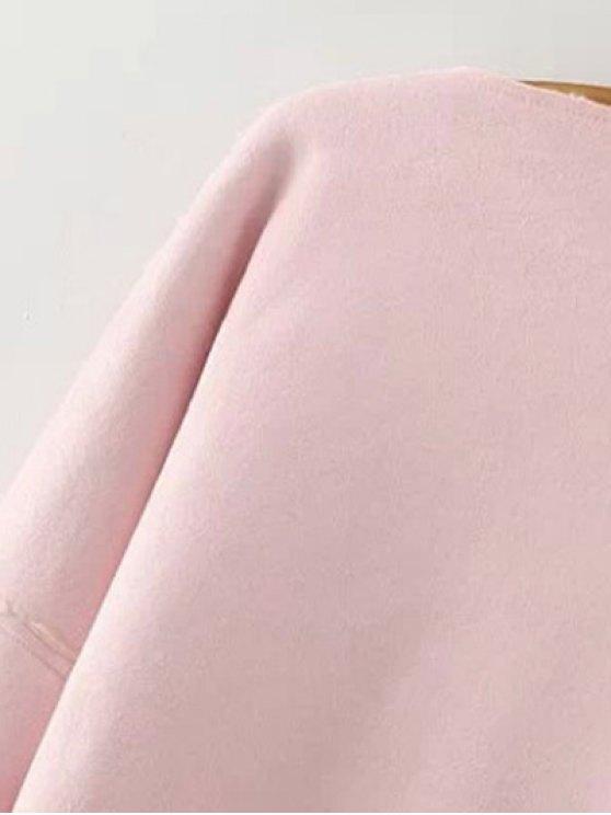 Lapel Collar Suede Coat - DEEP BROWN S Mobile