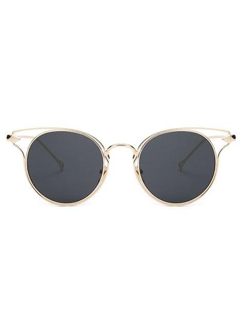 outfit Golden Arrow Cat Eye Sunglasses - GOLDEN  Mobile
