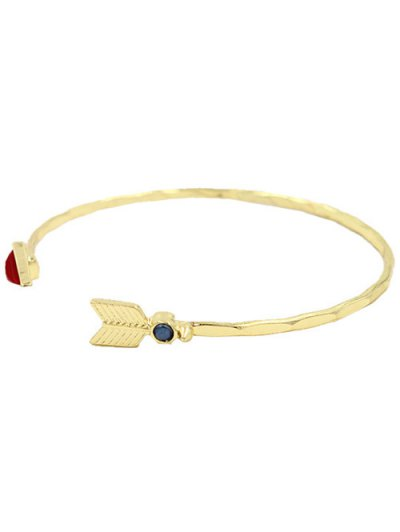 Arrow Triangle Cuff Bracelet - GOLDEN  Mobile