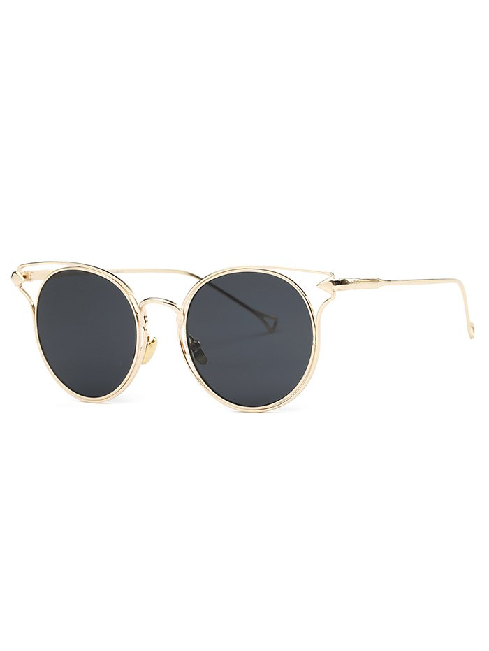 Cute Golden Arrow Cat Eye Sunglasses