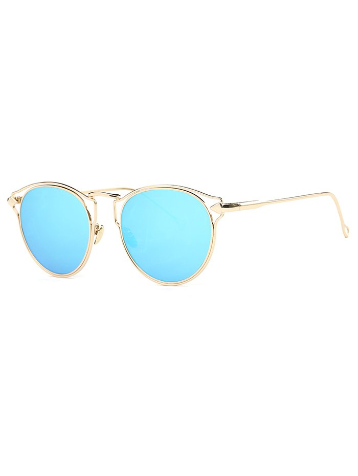 Cute Arrow Cat Eye Mirrored Sunglasses