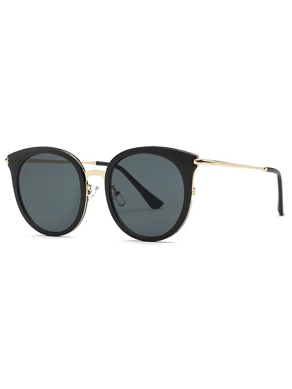 Stylish Black Cat Eye Sunglasses