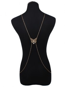 Cut Out Butterfly Body Chain