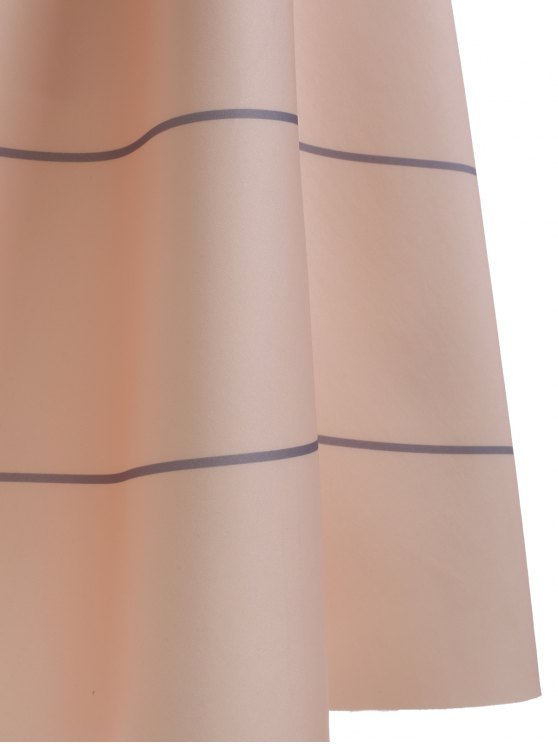 High Waisted Striola Skirt - APRICOT ONE SIZE Mobile