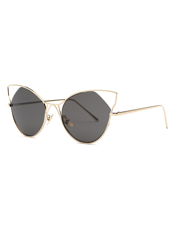 Stylish Cut Out Cat Ear Sunglasses