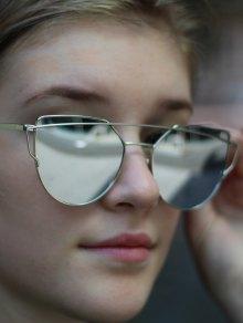 Gafas de sol marco de plata