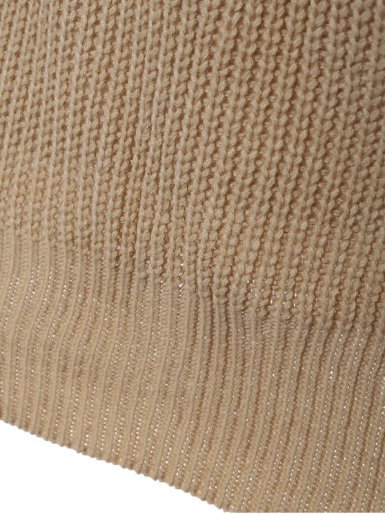 Long Sleeve Oversize Jumper - APRICOT ONE SIZE Mobile