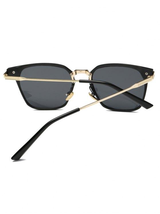 Full-Rim Butterfly Sunglasses - BLACK  Mobile