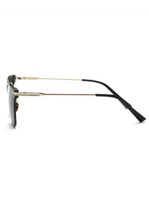 best Full-Rim Butterfly Sunglasses - BLACK  Mobile