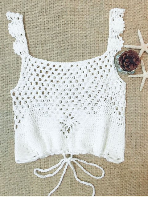 outfits Multiway Crop Top - WHITE ONE SIZE(FIT SIZE XS TO M) Mobile