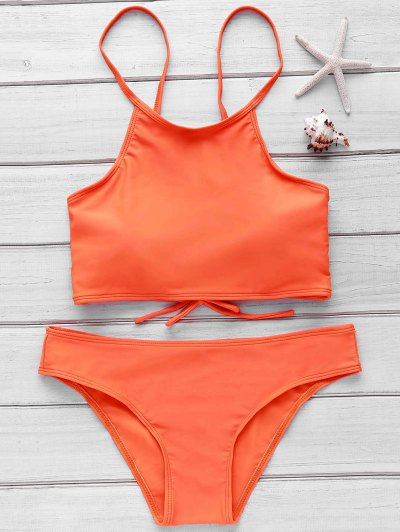 Cami Orange Bikini Set