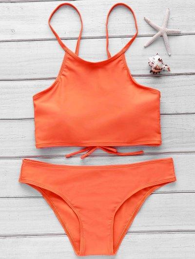 Cami Orange Bikini Set