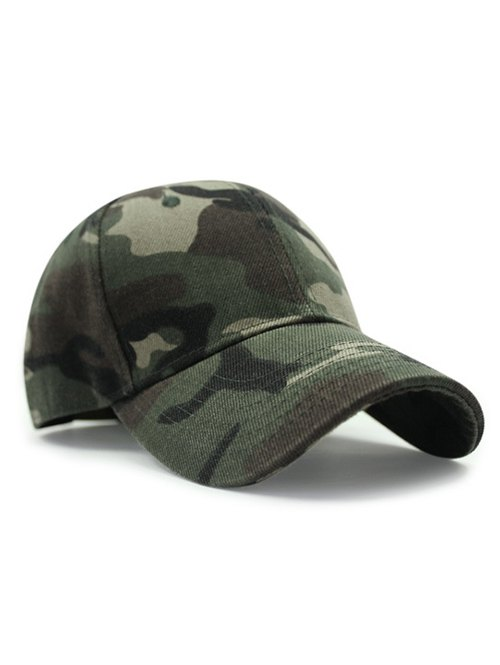 Camouflage Pattern Sunscreen Baseball Hat