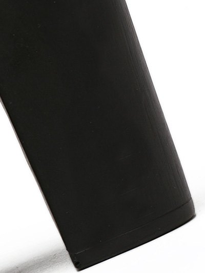 Chunky Heel Platform Ankle Strap Pumps - BLACK 38 Mobile