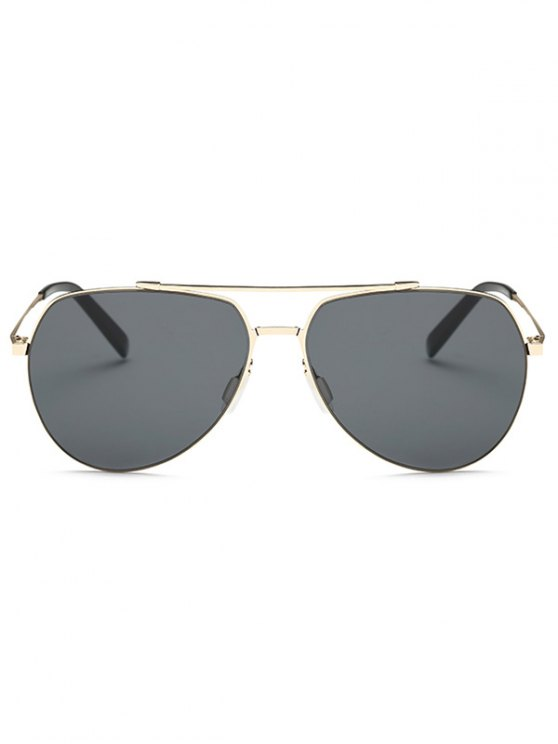 Lightweight Pilot Sunglasses - GOLDEN  Mobile