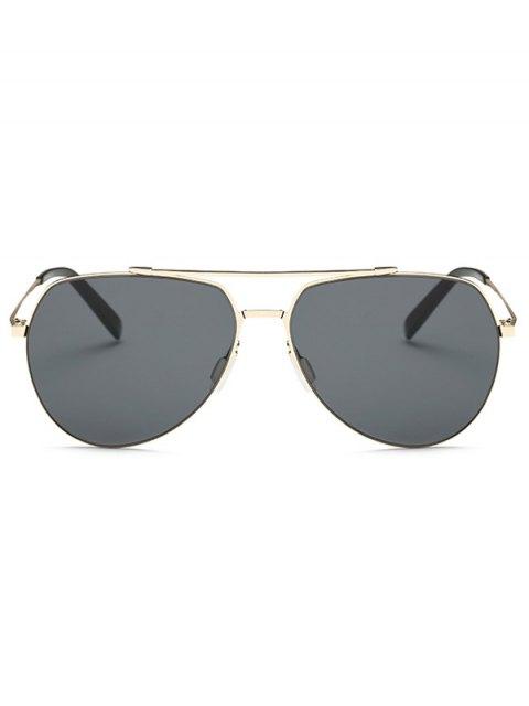 outfits Lightweight Pilot Sunglasses - GOLDEN  Mobile