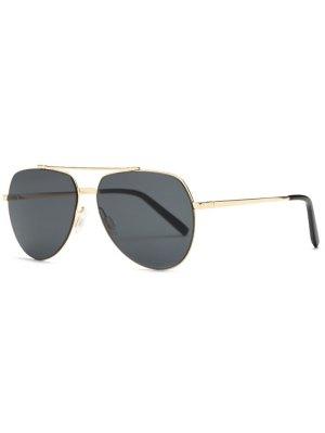 Lightweight Pilot Sunglasses - Golden