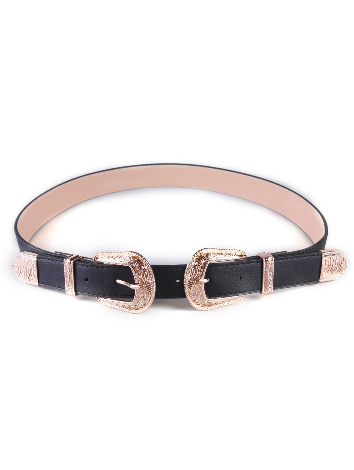 Buckles Wide Belt