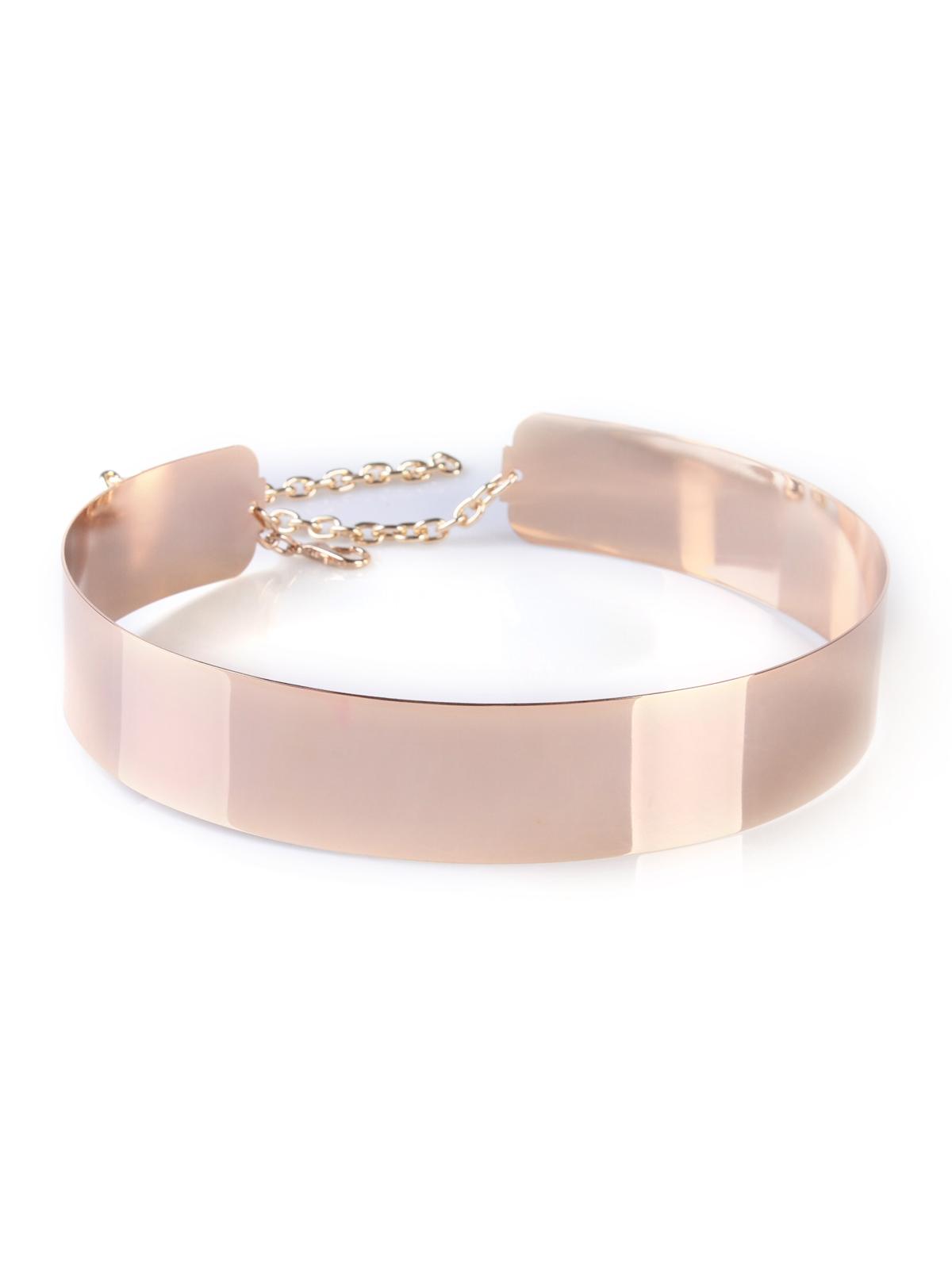 Mirrored Metal Waist Belt