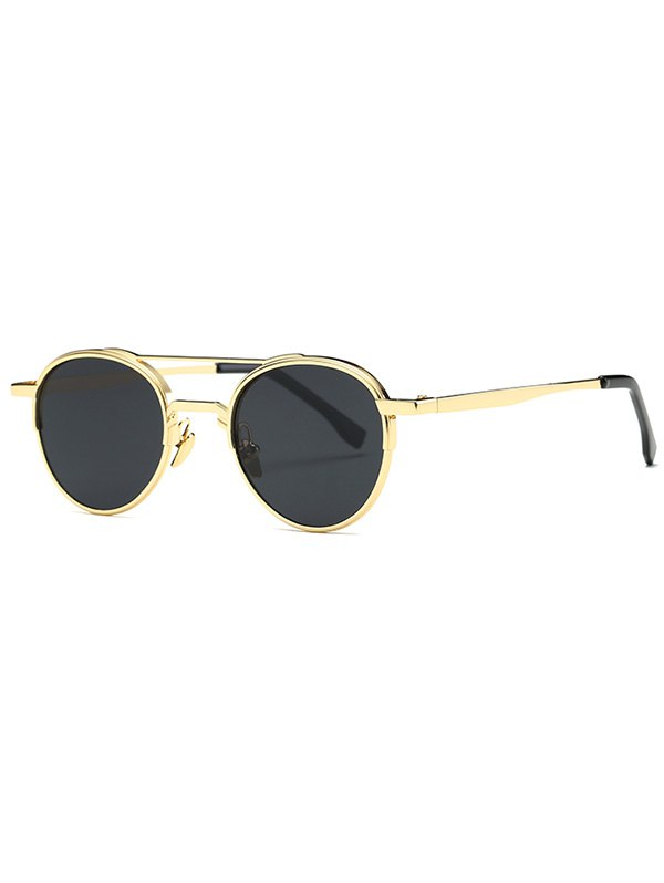 Ochelari de soare fashion Metal Crossbar Oval