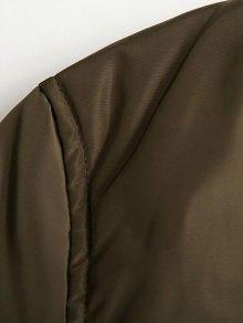 Zip Pocket Sport Jacket - ARMY GREEN XS