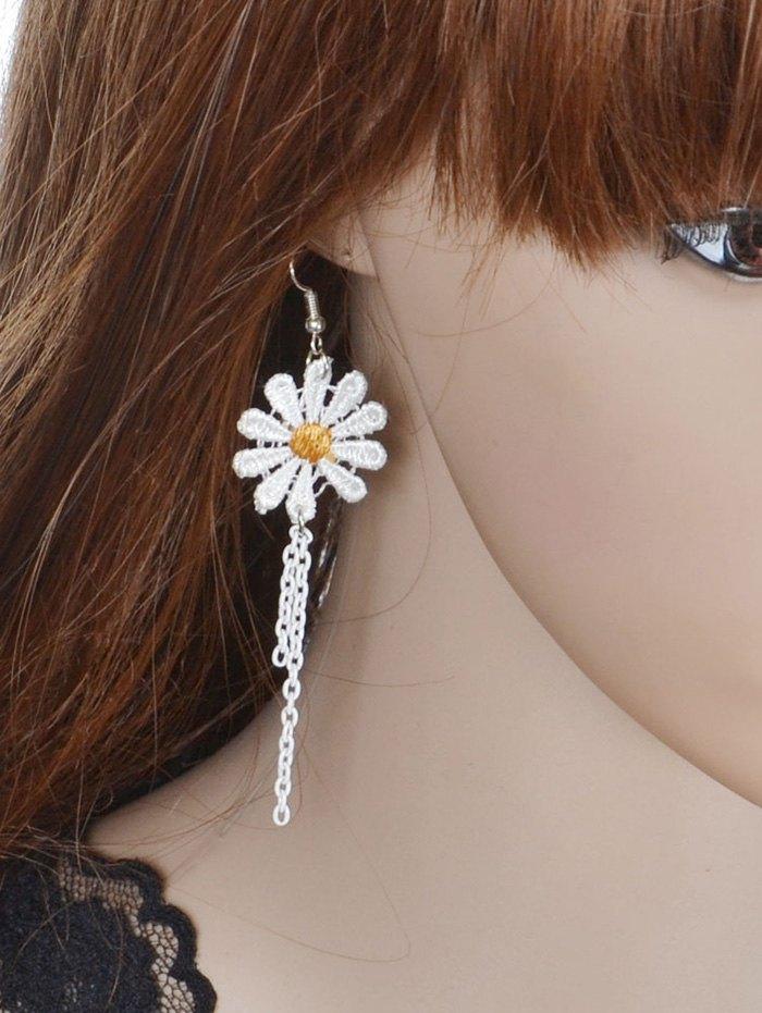 DIY Woven Blossom Drop Earrings