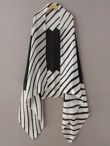 Comfortable Stripe Pashmina
