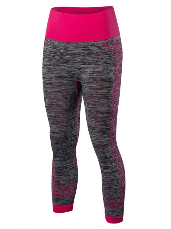 Dri-Fit Sport Capri Leggings - Rojo M