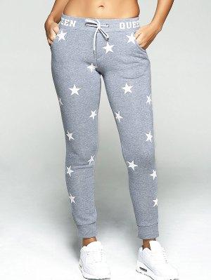 Star Print Sport Pants