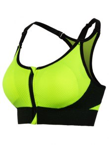Active Padded Sport Bra - Green S