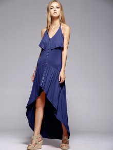 Ruffles High Low Cami Dress