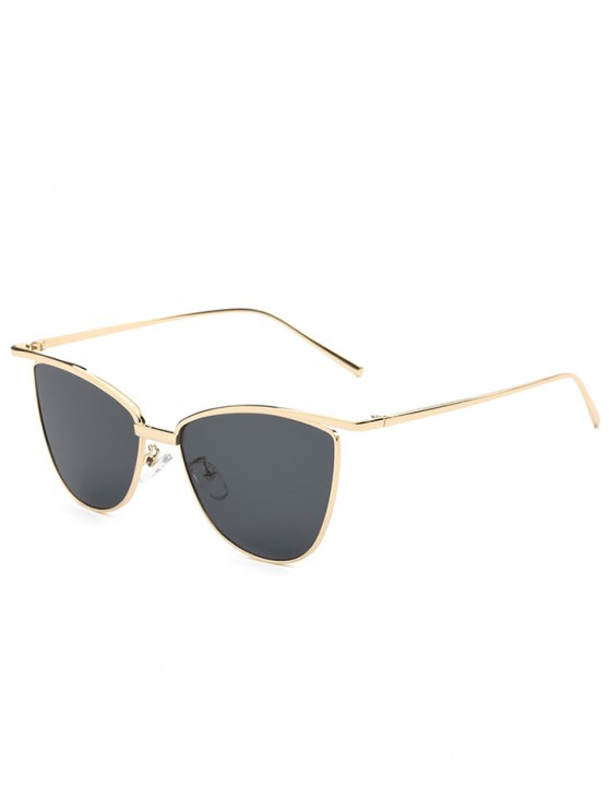 sale Brief Butterfly Sunglasses - BLACK
