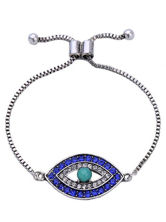 Rhinestone Eye Bracelet - COLORMIX  Mobile