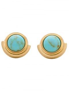 Artificial Stone Stud Earrings