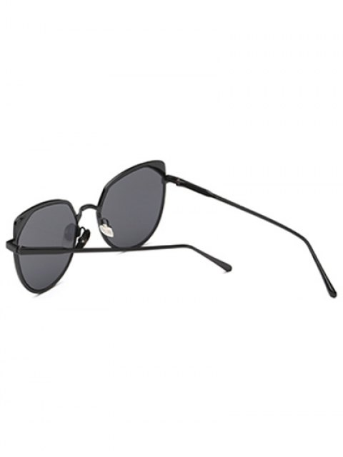 ladies Cat Eye Sunglasses - BLACK  Mobile