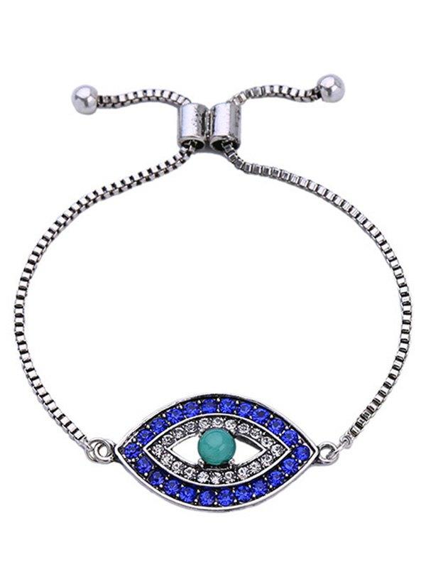 Rhinestone Eye Bracelet