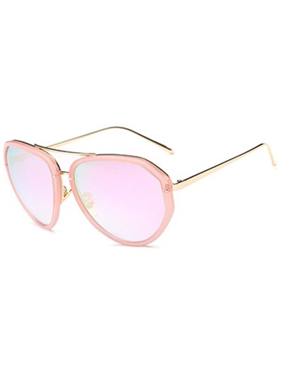 Oversized Mirrored SunglassesAccessories<br><br><br>Color: PINK