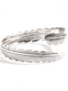 Buy Alloy Feather Arm Cuff Chain
